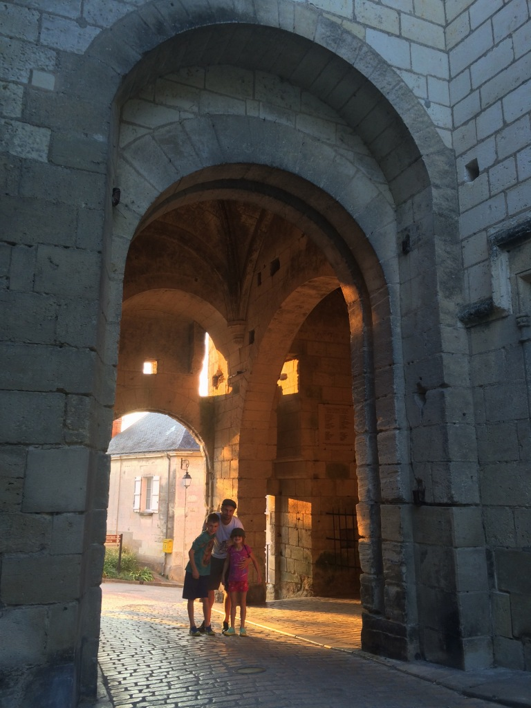 Archways leading into the Cité Royale