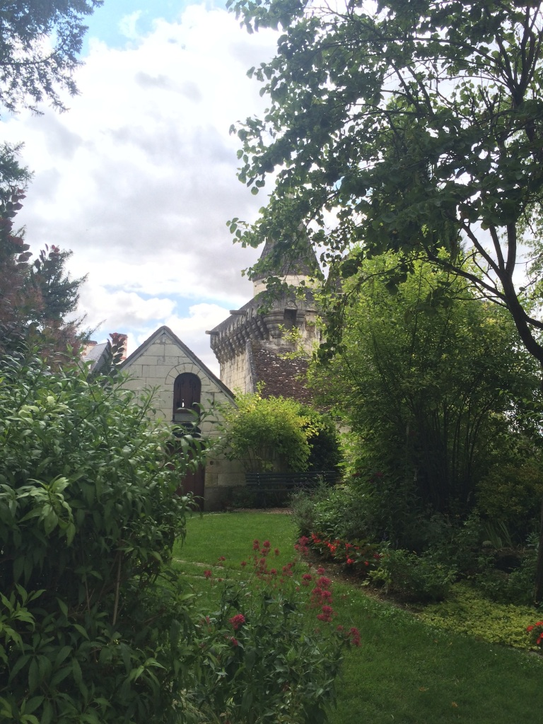 the gardens behind lansyer's home