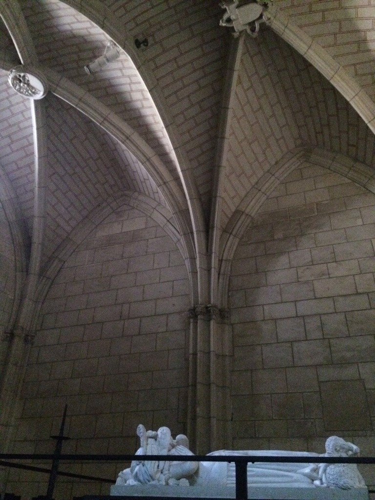 This is Agnes Sorel's tomb, in l'Église de Saint Ours