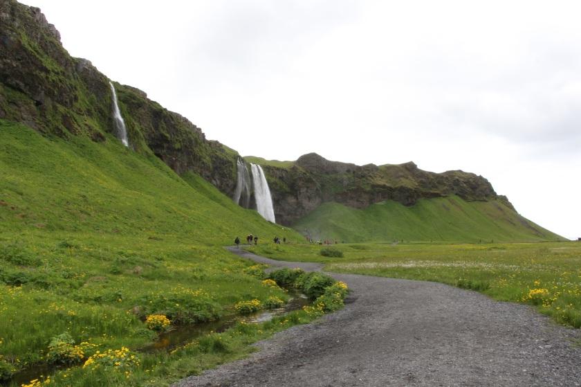 Seljalandfoss from afar