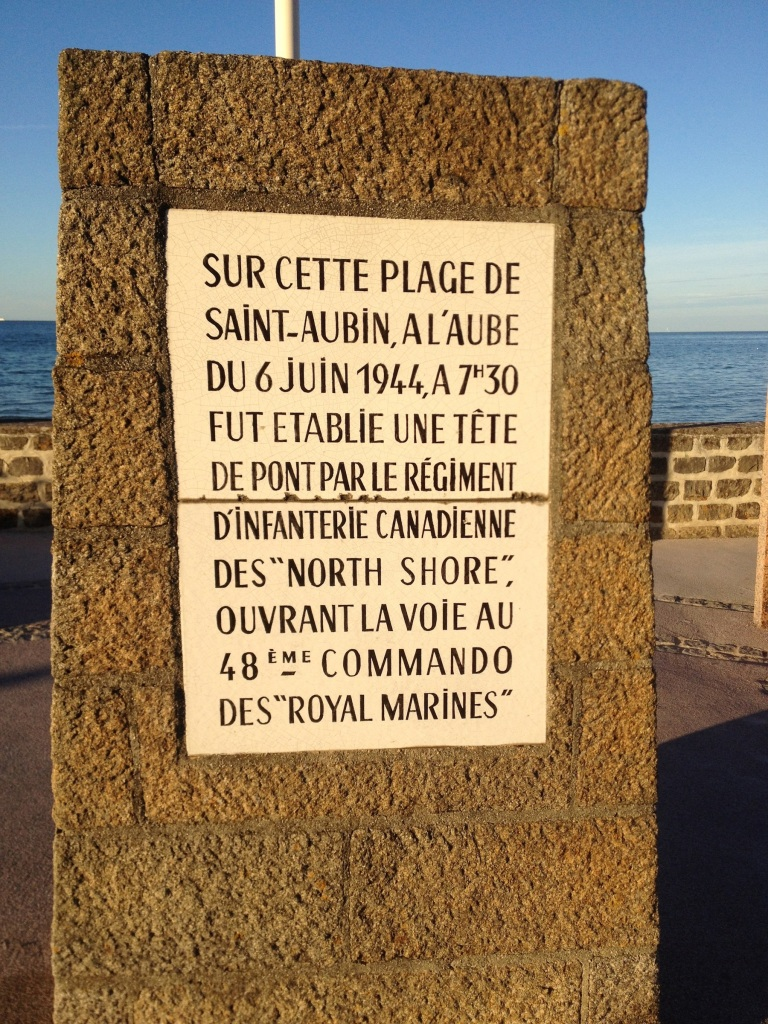 St. Aubin Plaque