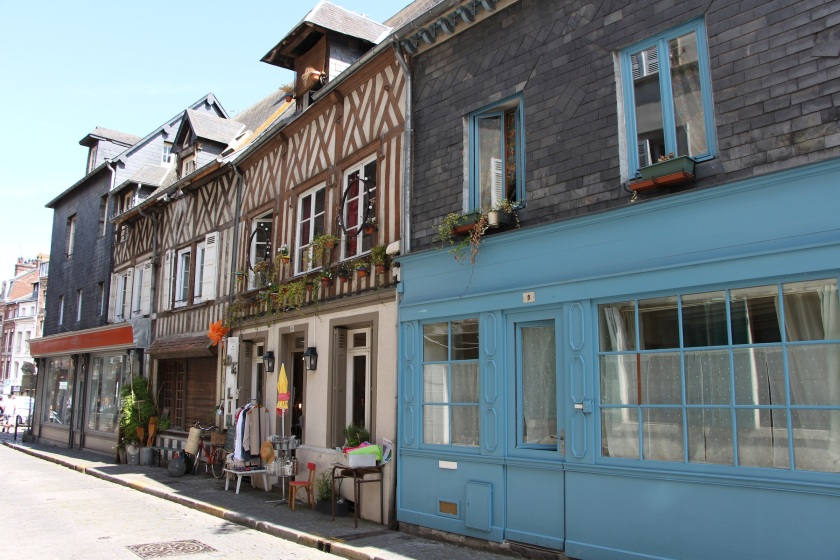 Yep, another charming street in Honfleur.