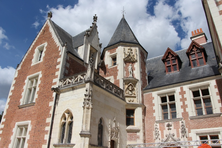 From the front entrance of the Château.
