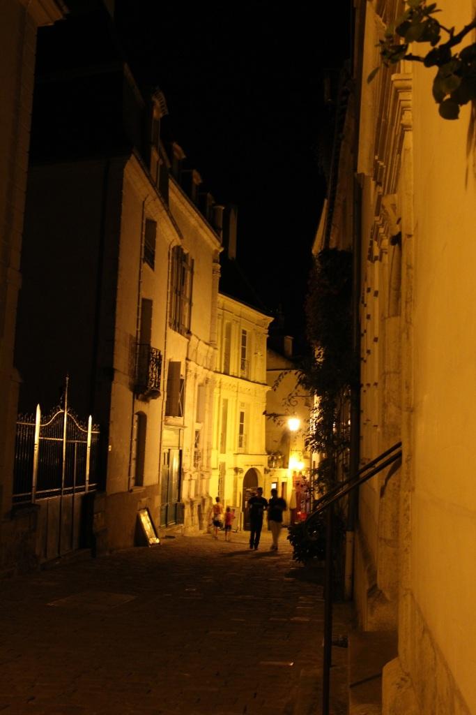 walk down street
