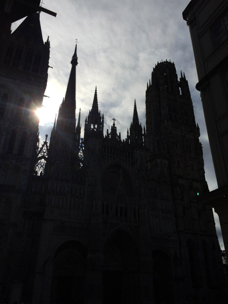 Cathedral silhouettes