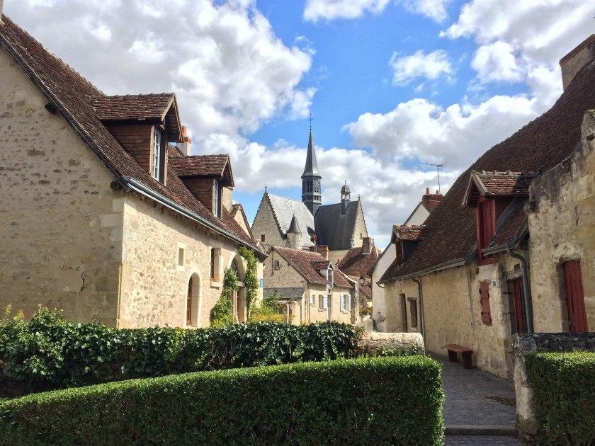 Montrésor village.