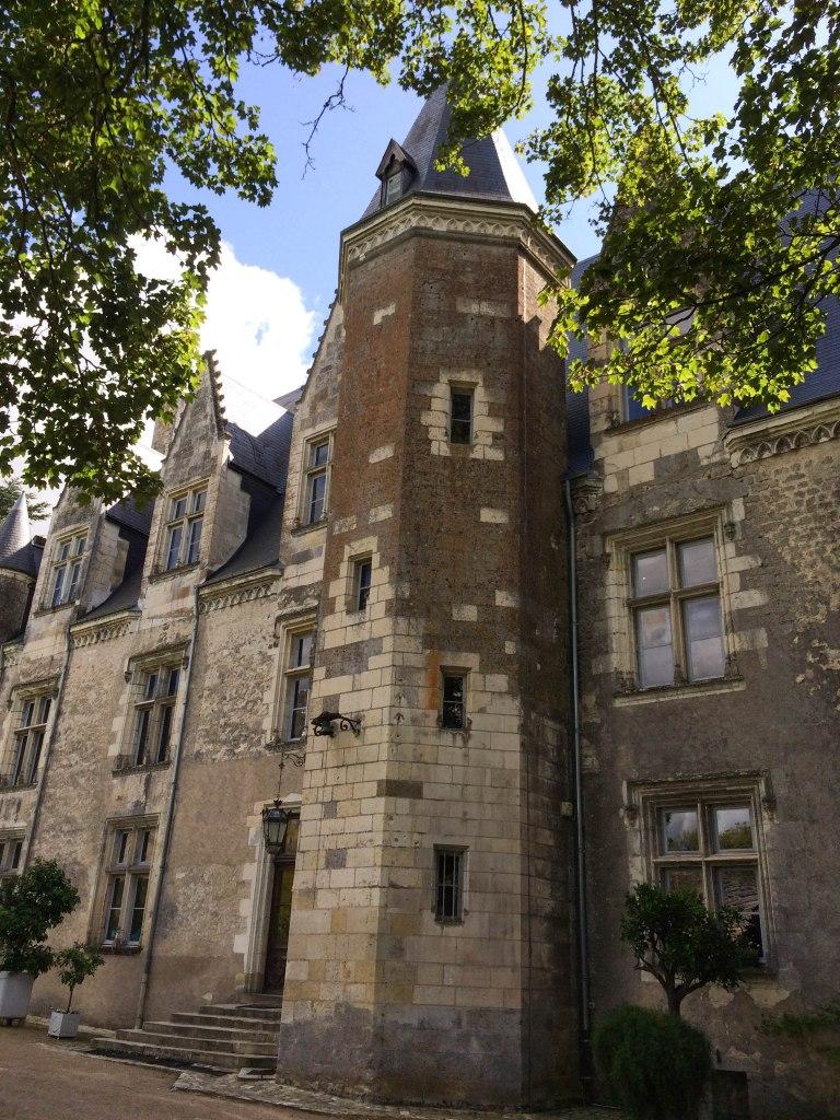 Entrance to the Château de Montrésor.