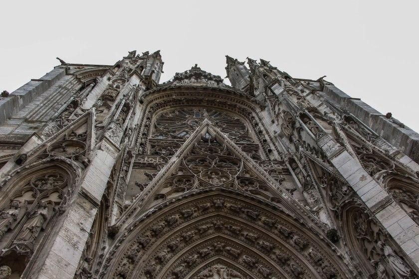 Gothic details, Cathédrale.