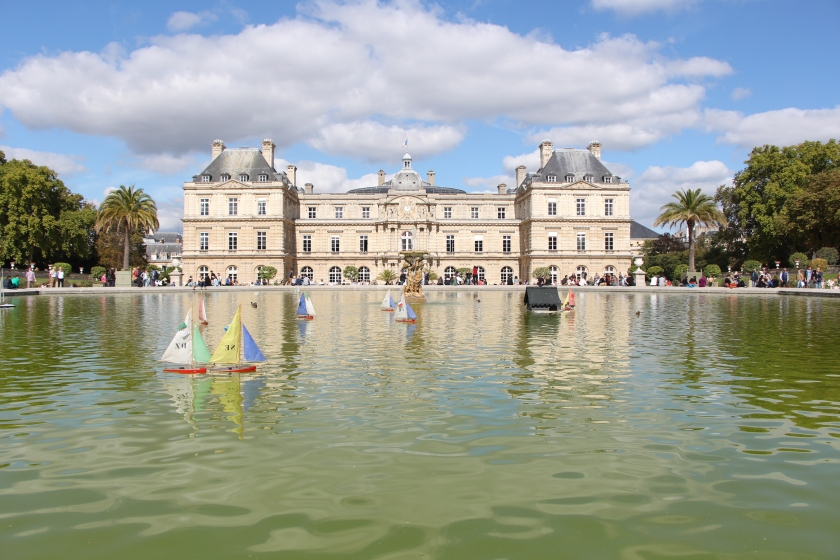 The sailboats at Les Jardins de Luxembourg were definitely a highlight - so charming!