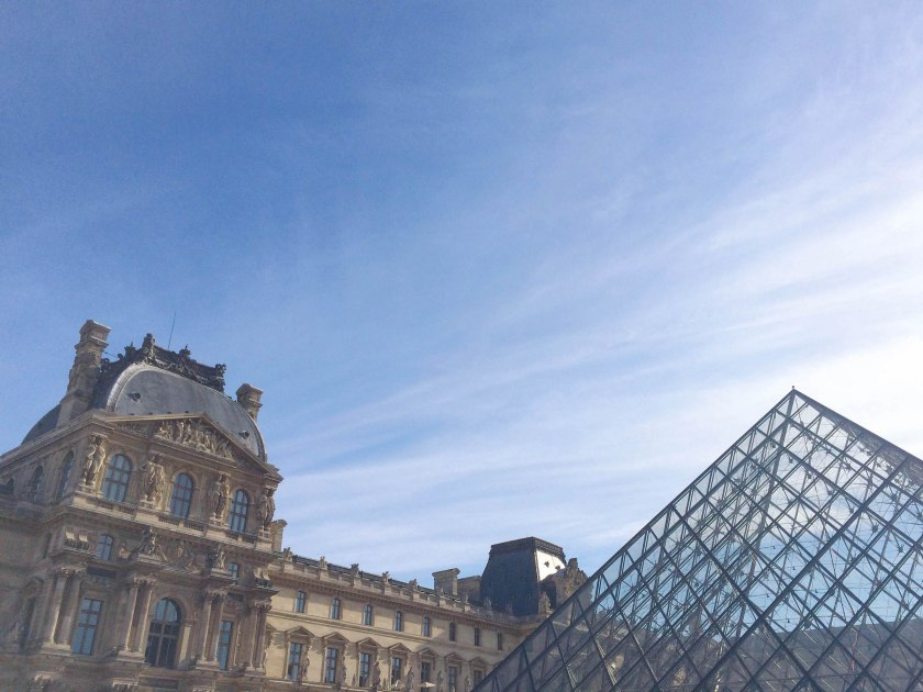 Oliver *needed* to go to the Louvre, to see the Mona Lisa. He definitely got a kick out of seeing her, but in the end both kids were mainly crazy about the Egyptian Antiquities.