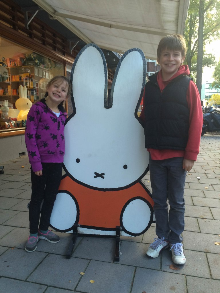 A special trip to the Miffy store in De Pijp!
