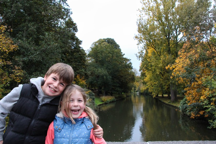 Can you tell that these two loved Bruges?