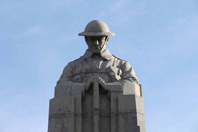 soldier closeup