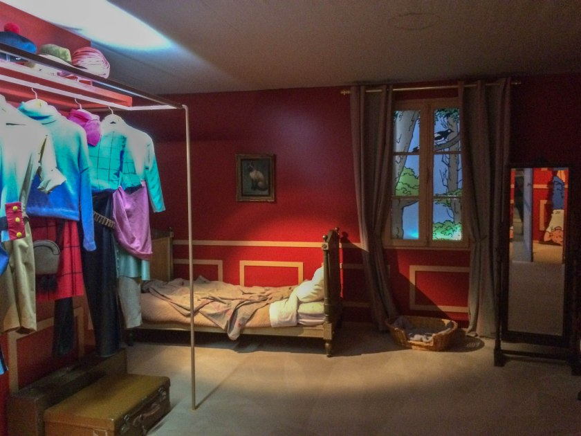 tintin's bedroom