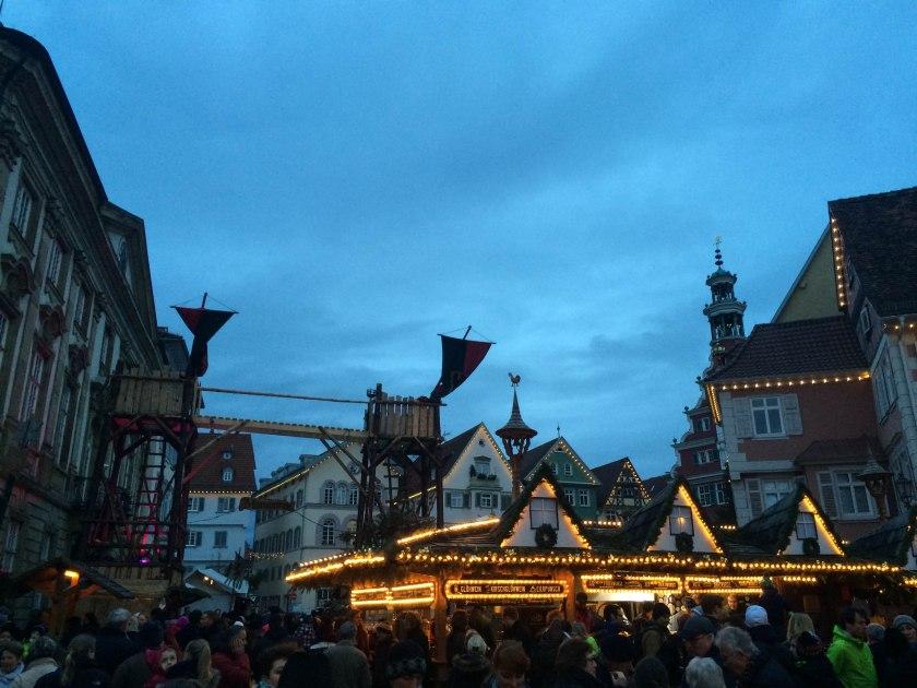 Esslingen market lights
