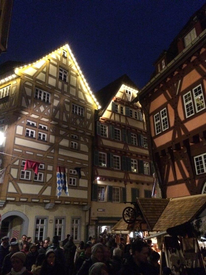 timbered buildings esslingen
