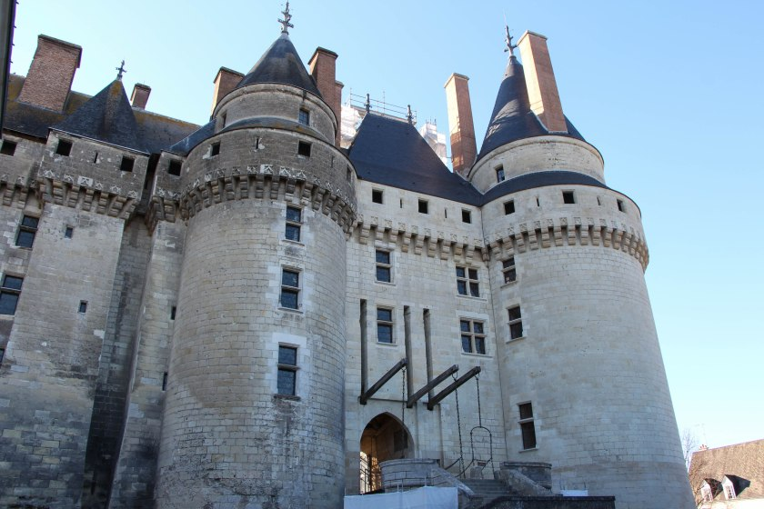 Chateau langeais from the front