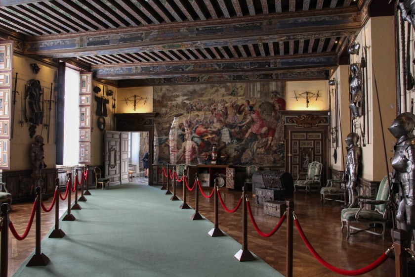 The hall of arms