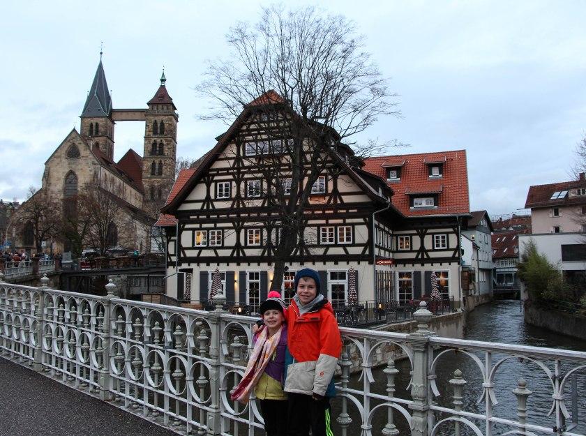 Esslingen on the river