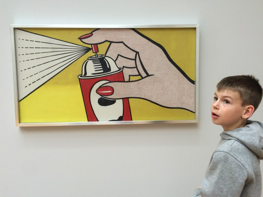 "Lichtenstein ""spray"""