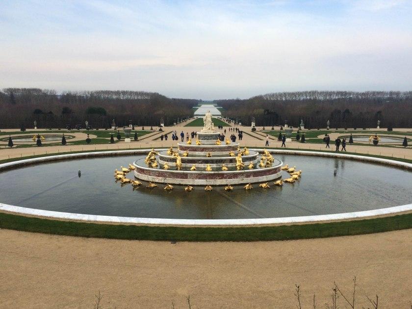 winter gardens, versailles