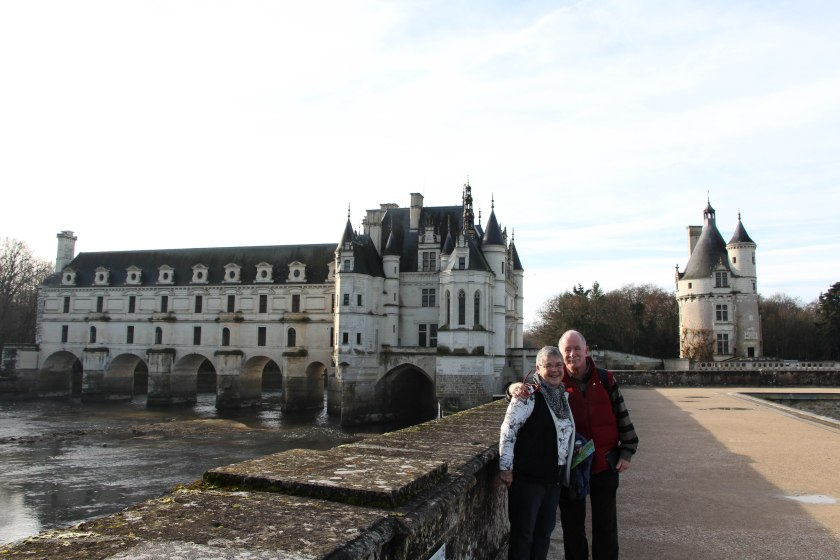 parents at chenonceau