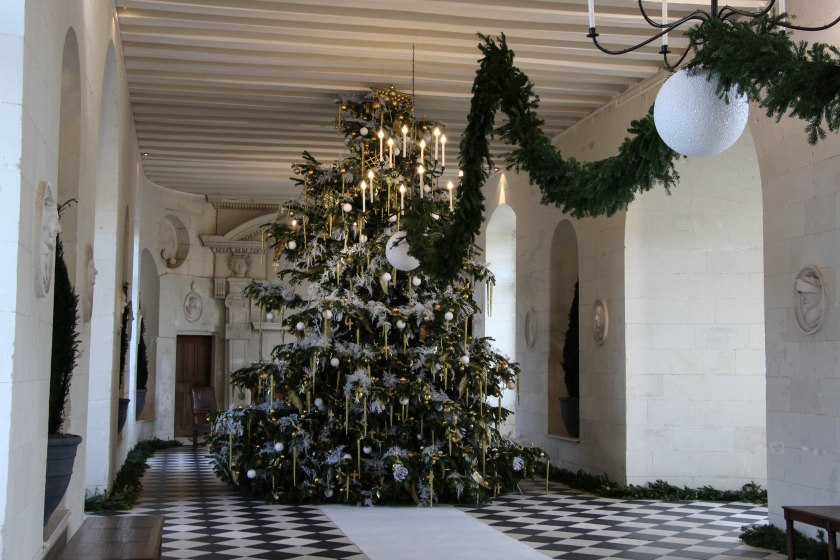 tree in ballroom