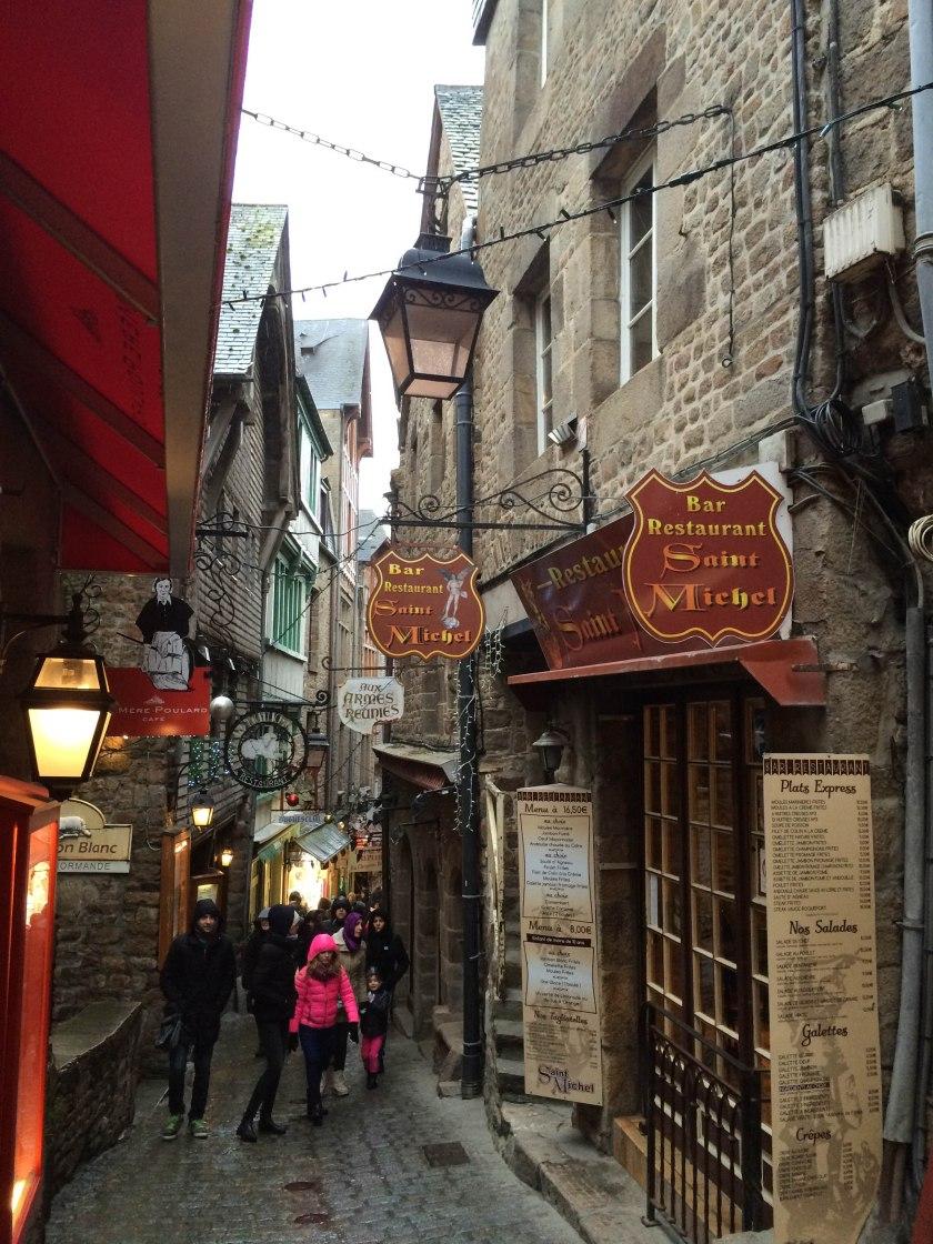 Mont St-Michel streets