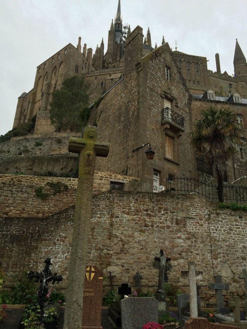 Mont St-Michel graveyard