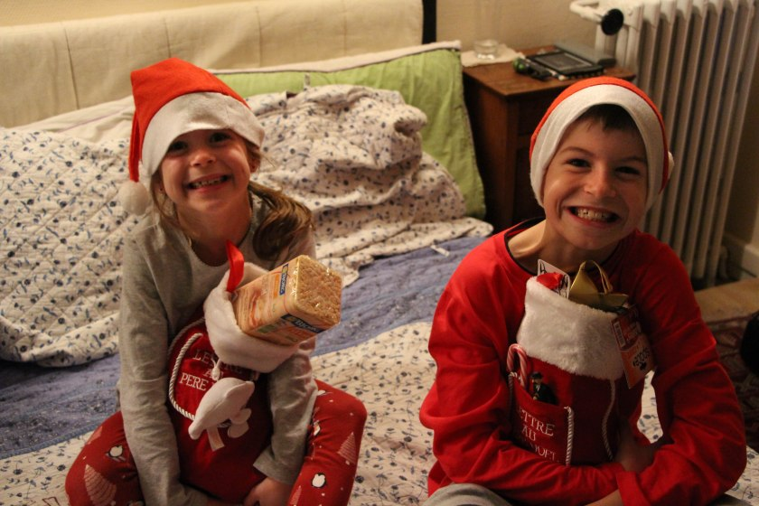 stocking time!