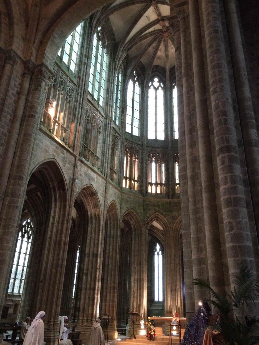 mont st m abbey altar