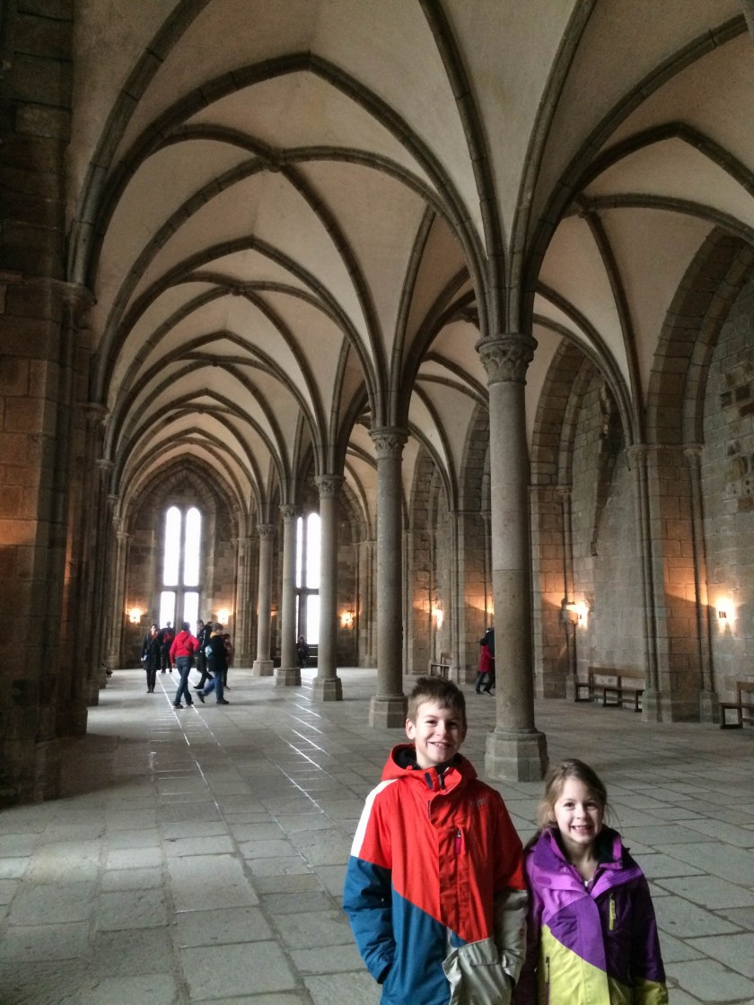 mont st michel abbey hall