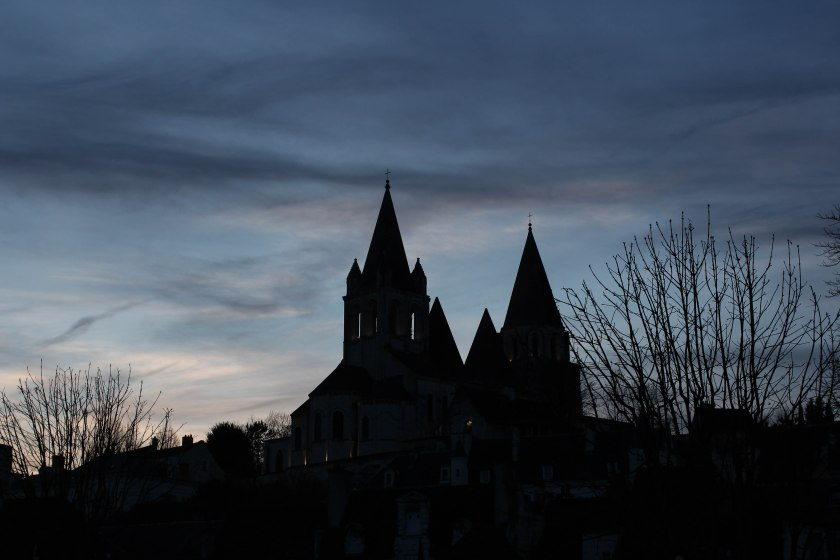 saint-ours at dusk