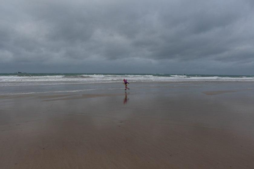 beach run dani