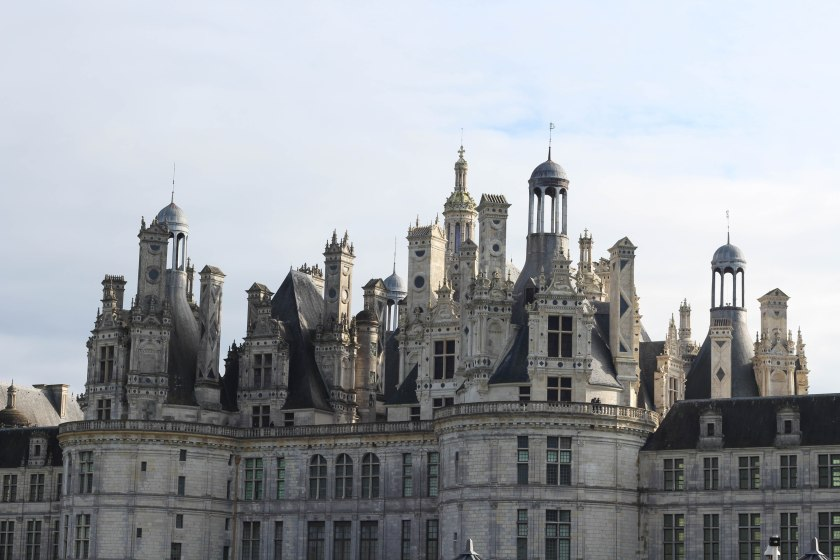 top of the chateau chambord
