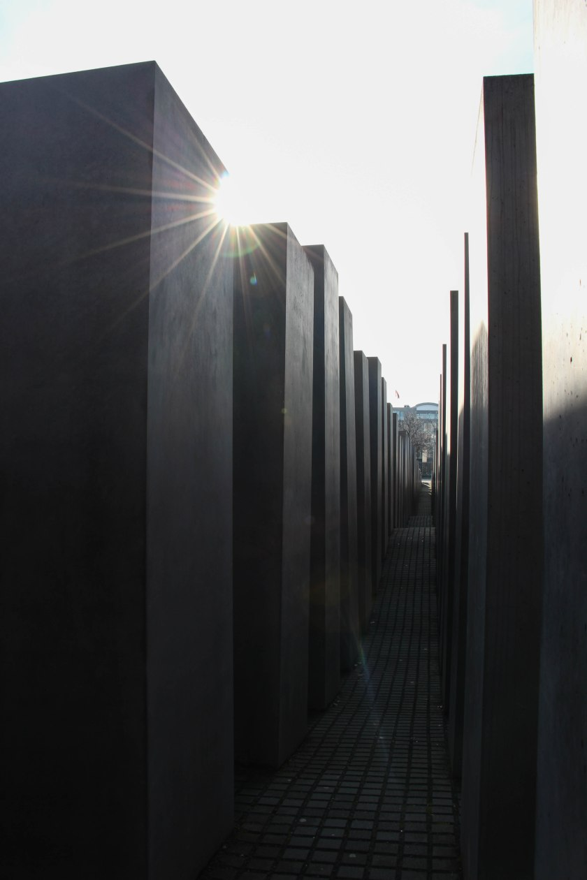 monument to murdered jews tall