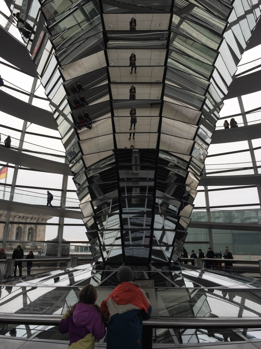 reichstag reflective tower
