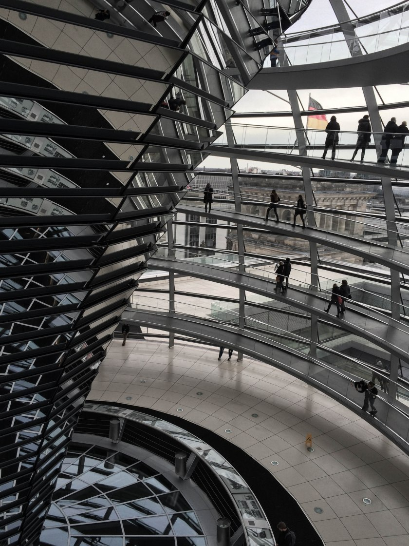 reichstag reflections and ramps