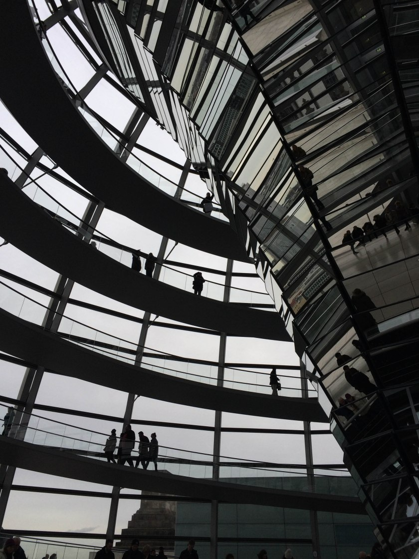 more reichstag ramp and reflection