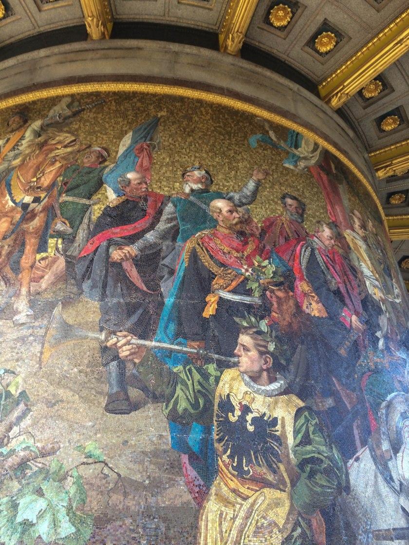 mosaic victory column
