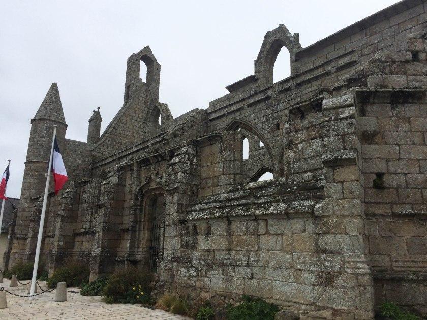 15th century church in batz