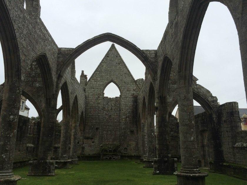 church ruins in batz