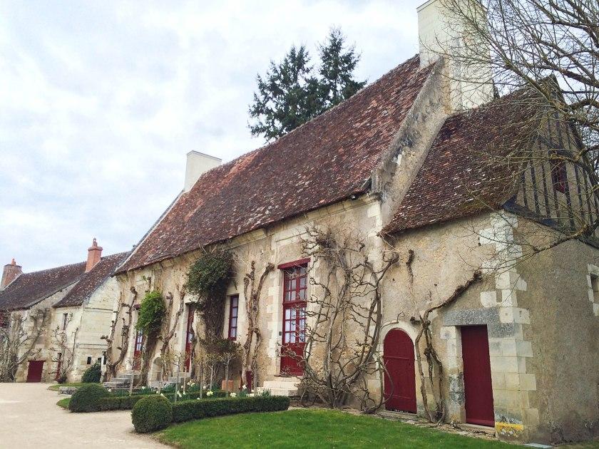chenonceau garden outbuilding