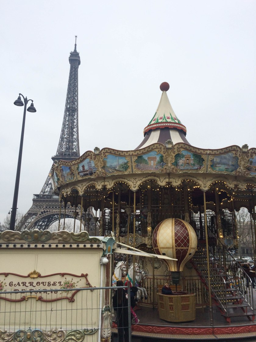 eiffel tower + carousel