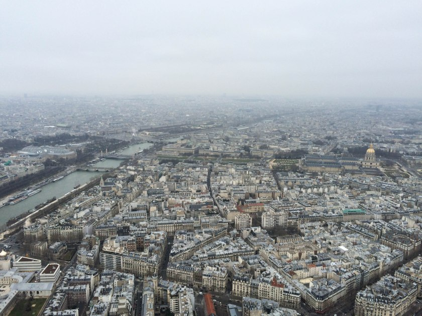 invalides from top of the eiffel