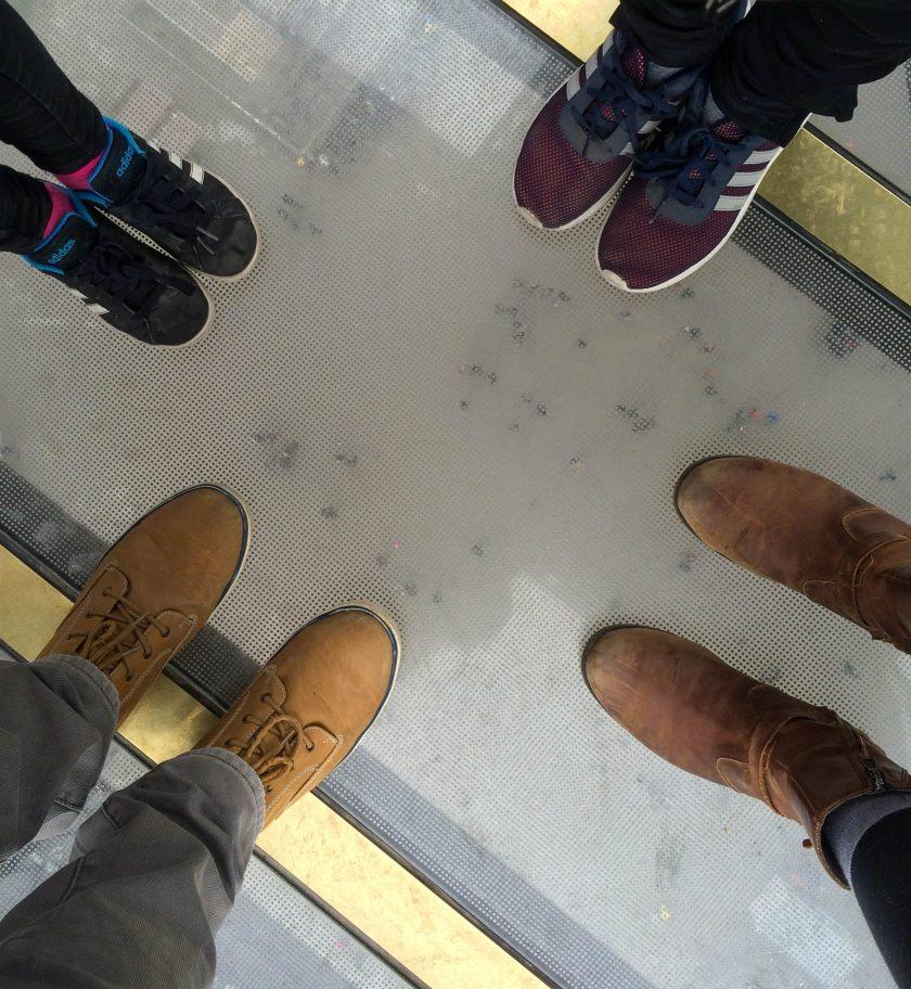 shoe selfie eiffel tower