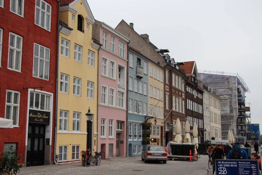 nyhavn harbour pastel houses