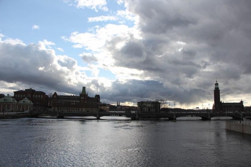 moody skies stockholm