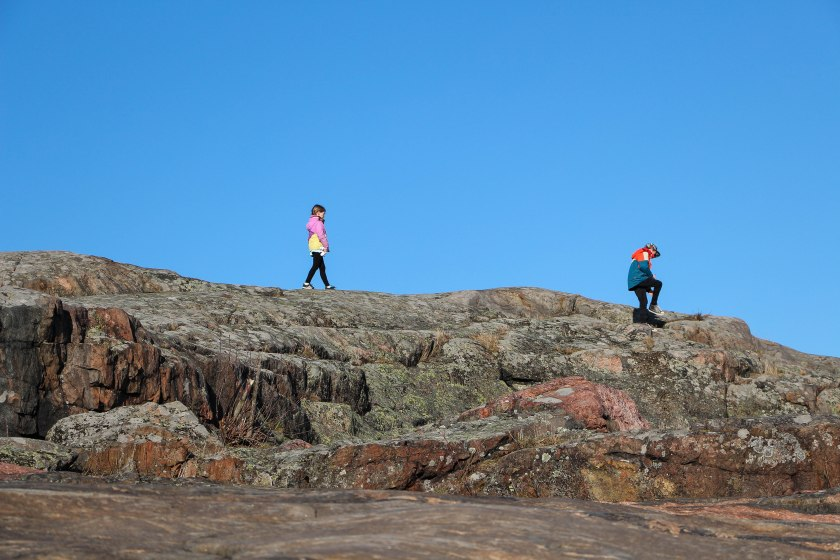 Liuskasaari rock walk