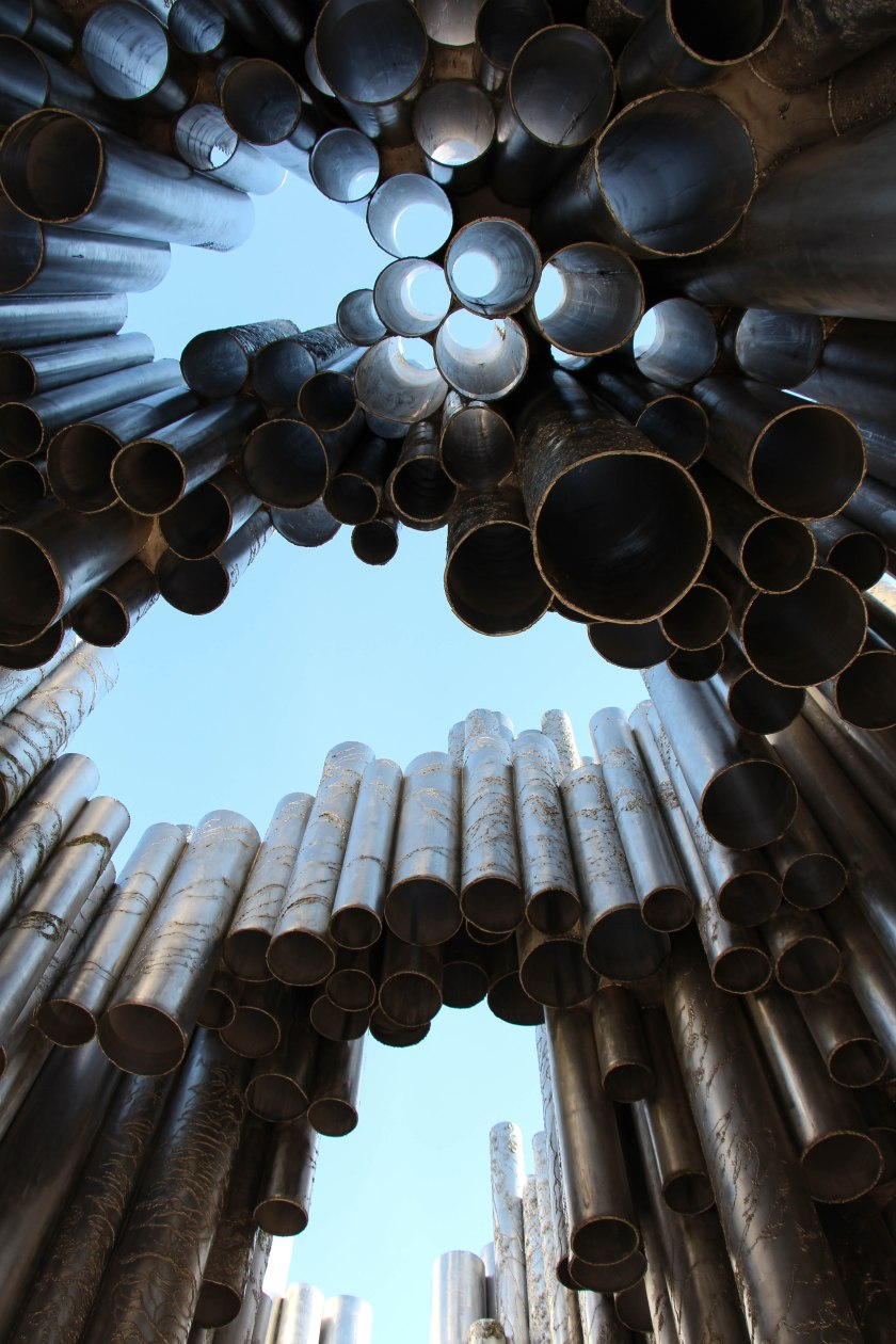 sibelius monument from below